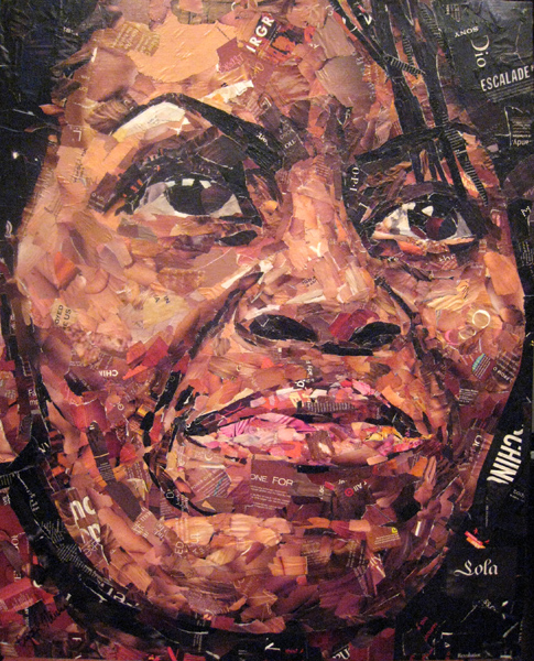 Michelle Obama<br>Collage<br>32x40 inches</br></br>
